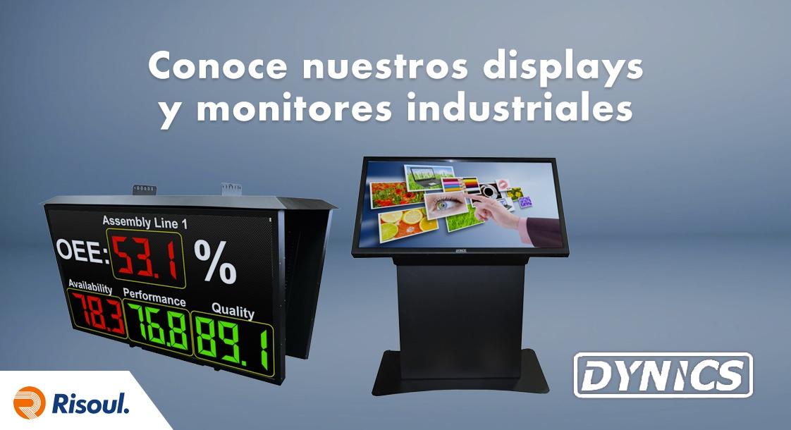 Conoce nuestros displays y monitores industriales Dynics