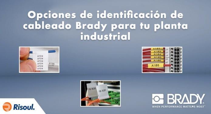 Opciones de identificación de cableado Brady para tu planta industrial