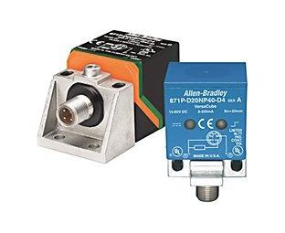 Sensor inductivo marca Allen Bradley modelo 871P