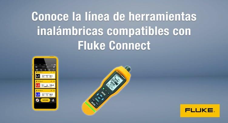 herramientas inalámbricas compatibles con Fluke Connect