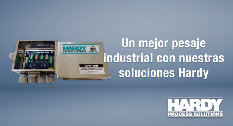 pesaje industrial con nuestras soluciones Hardy