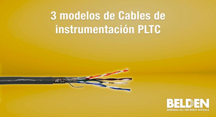 Cables de instrumentación PLTC Belden
