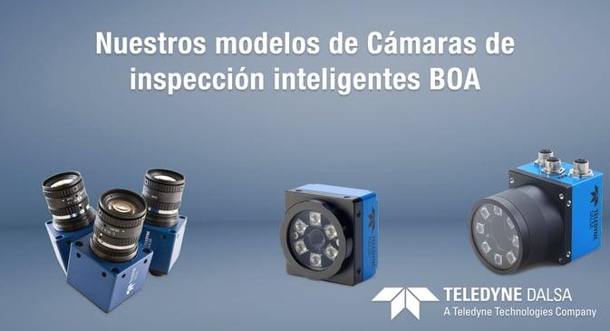 Camaras de inspección BOA de Teledyne Dalsa