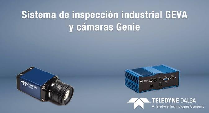 Sistema GEVA de visión industrial y cámaras Genie
