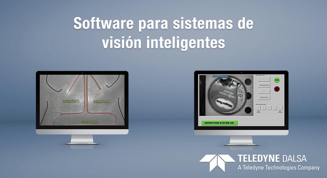 Software de visión industrial Teledyne Dalsa