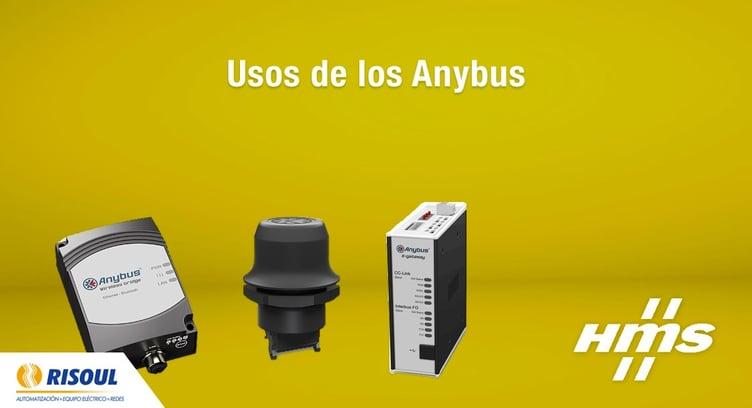 Usos de los Anybus de HMS.