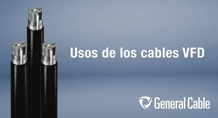 Usos de los cables para variador de frecuencia VFD de General Cable