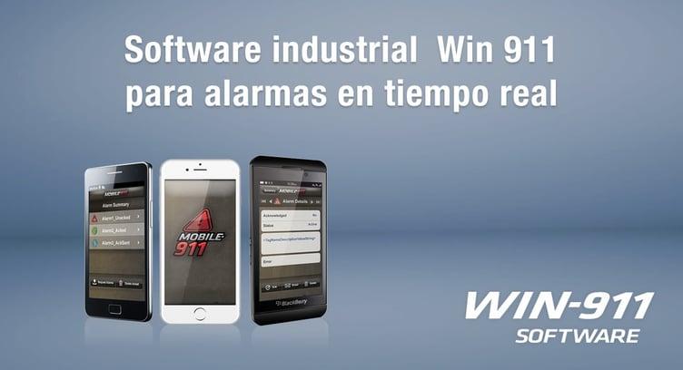 Software industrial  Win 911