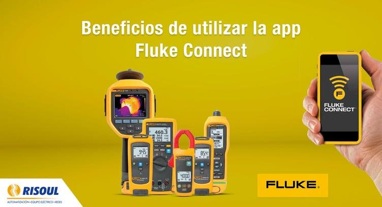 Beneficios de utilizar la app Fluke Connect con los productos Fluke