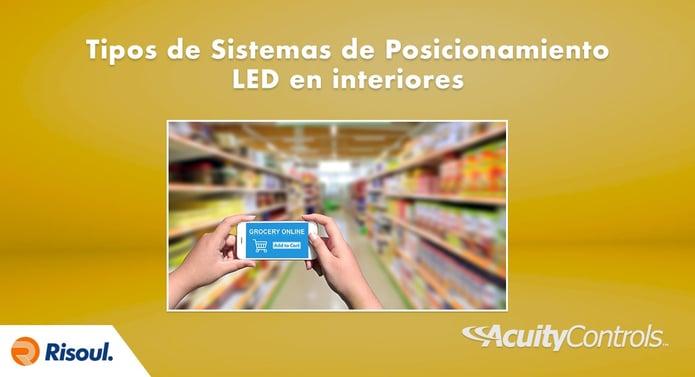 Tipos de Sistemas de Posicionamiento LED en interiores Acuity Brands