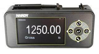 Procesador de peso Hardy Serie 6500