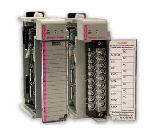 Procesadores de peso Hardy para PLC