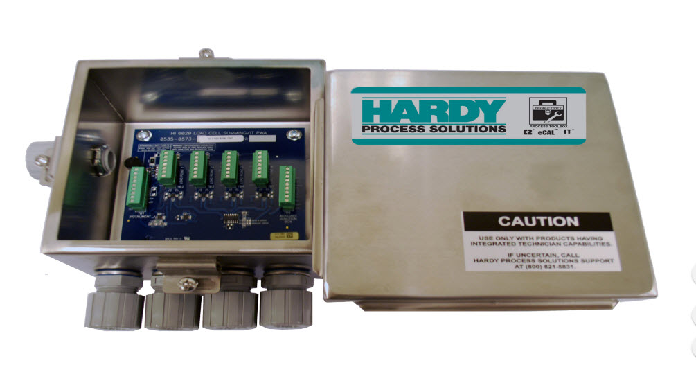software tecnico integrado en caja suma de Hardy