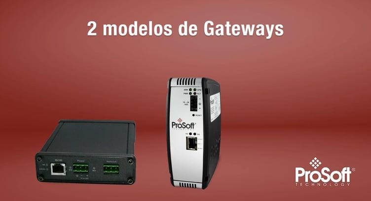 2 modelos de gateways prosoft