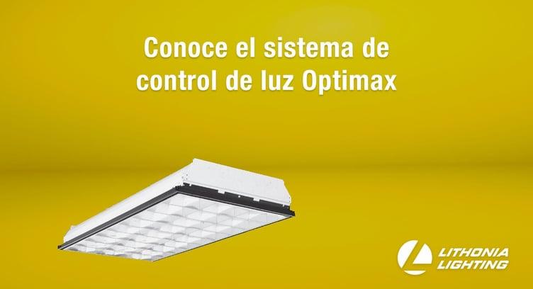 sistema de control de luz Optimax de Lithonia