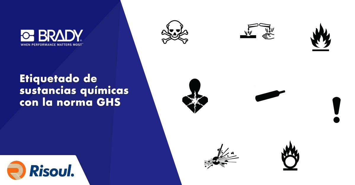 Realiza un correcto etiquetado de sustancias químicas en base a la norma GHS