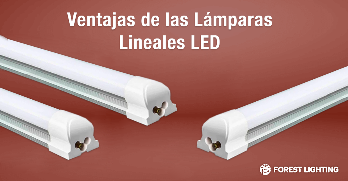 Ventajas de las Lámparas Lineales LED Forest Lighting