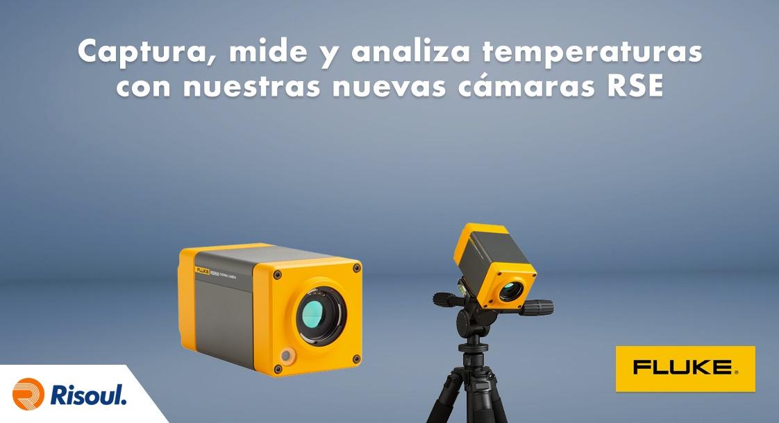 Captura, mide y analiza temperaturas con nuestras nuevas cámaras Fluke RSE