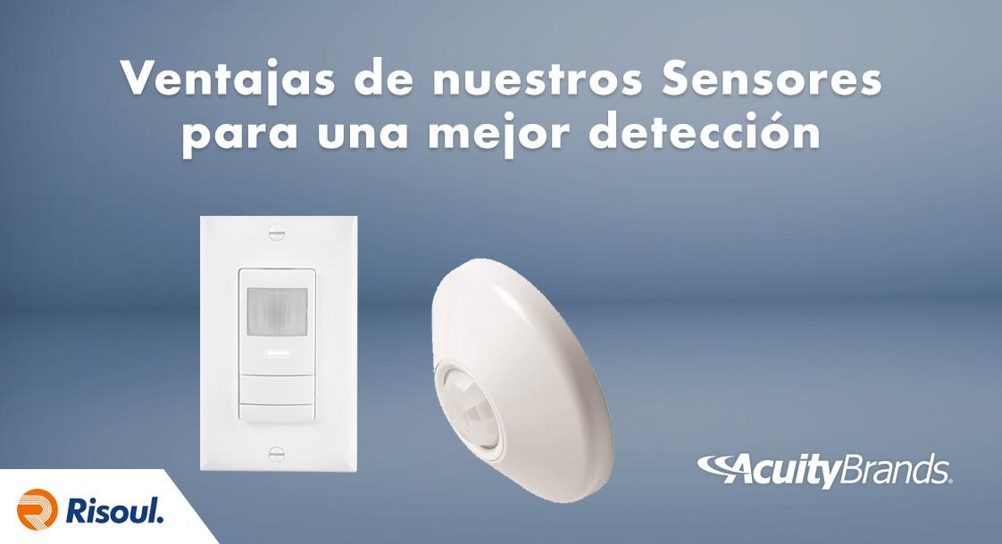 Ventajas de los Sensores Acuity Brands para una mejor detección