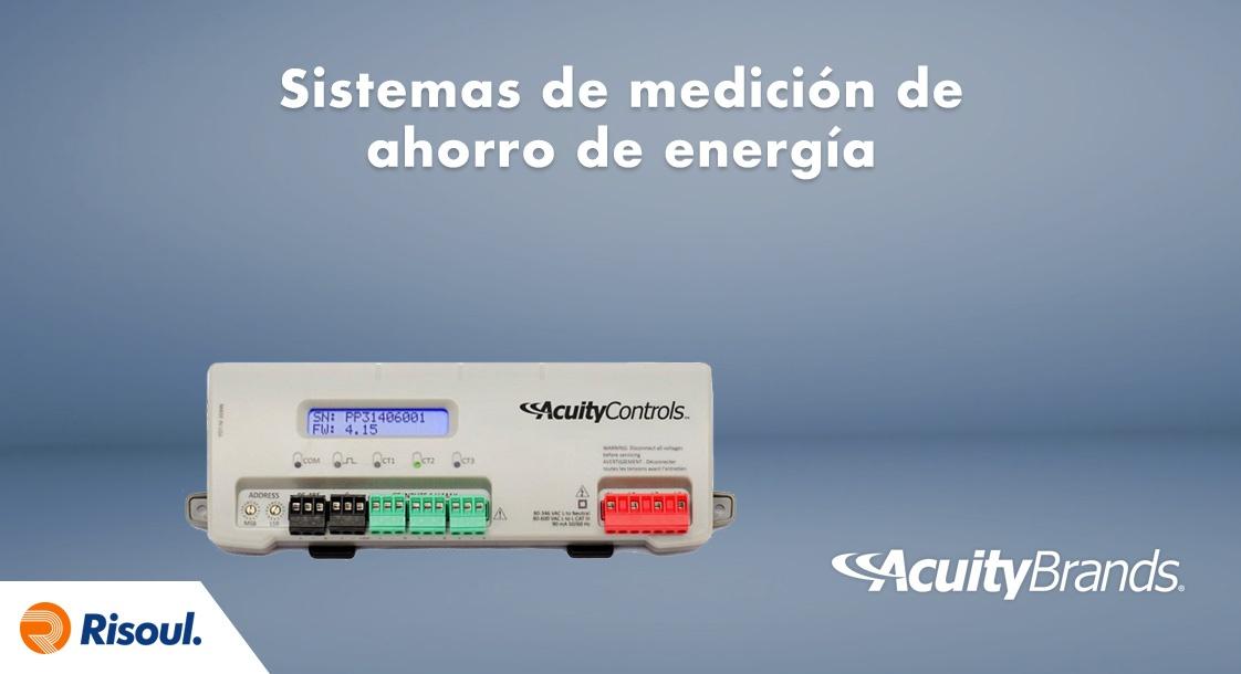 Sistemas de medición de ahorro de energía Acuity Brands