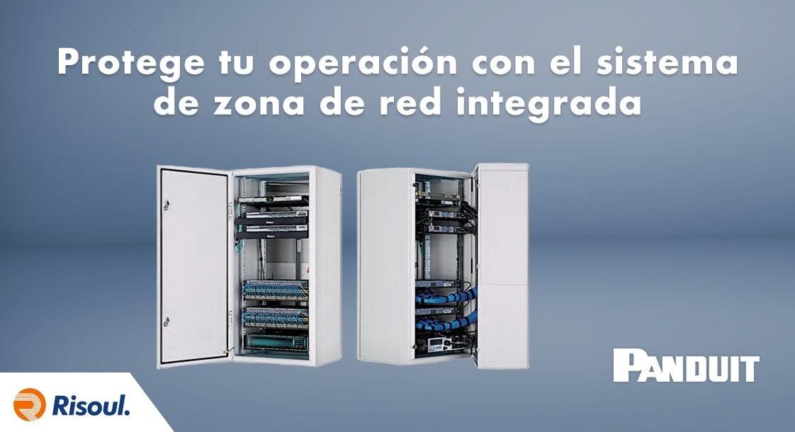 Protege tu operación con el sistema de zona de red integrada Panduit