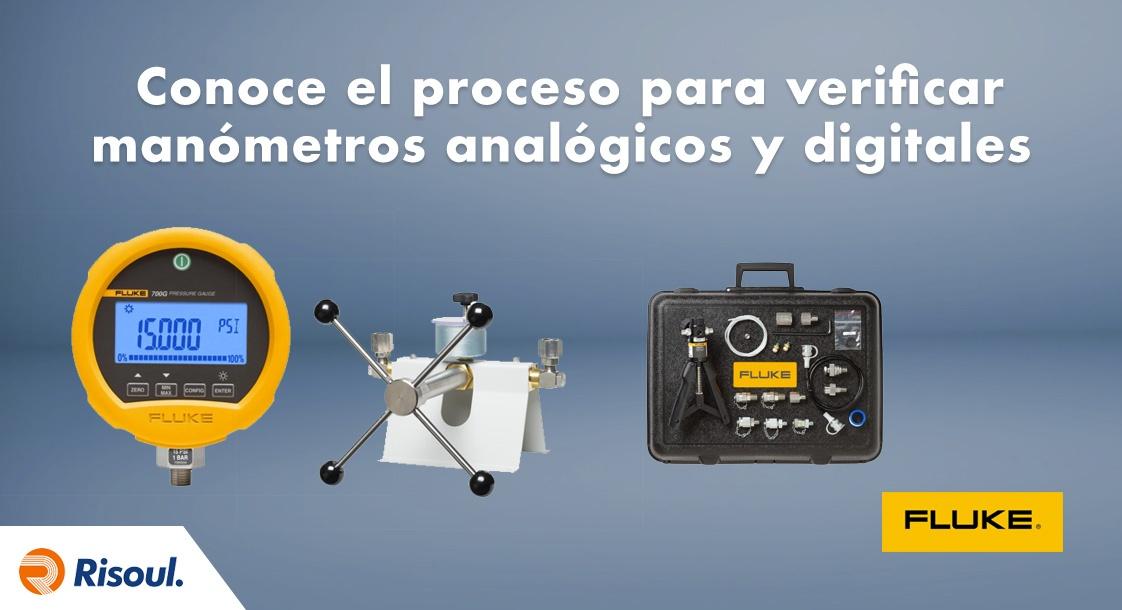 Conoce el proceso para verificar manómetros analógicos y digitales