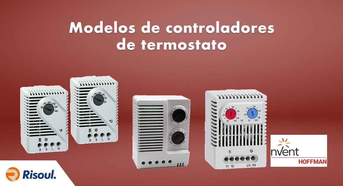 Modelos de controladores de termostato Hoffman