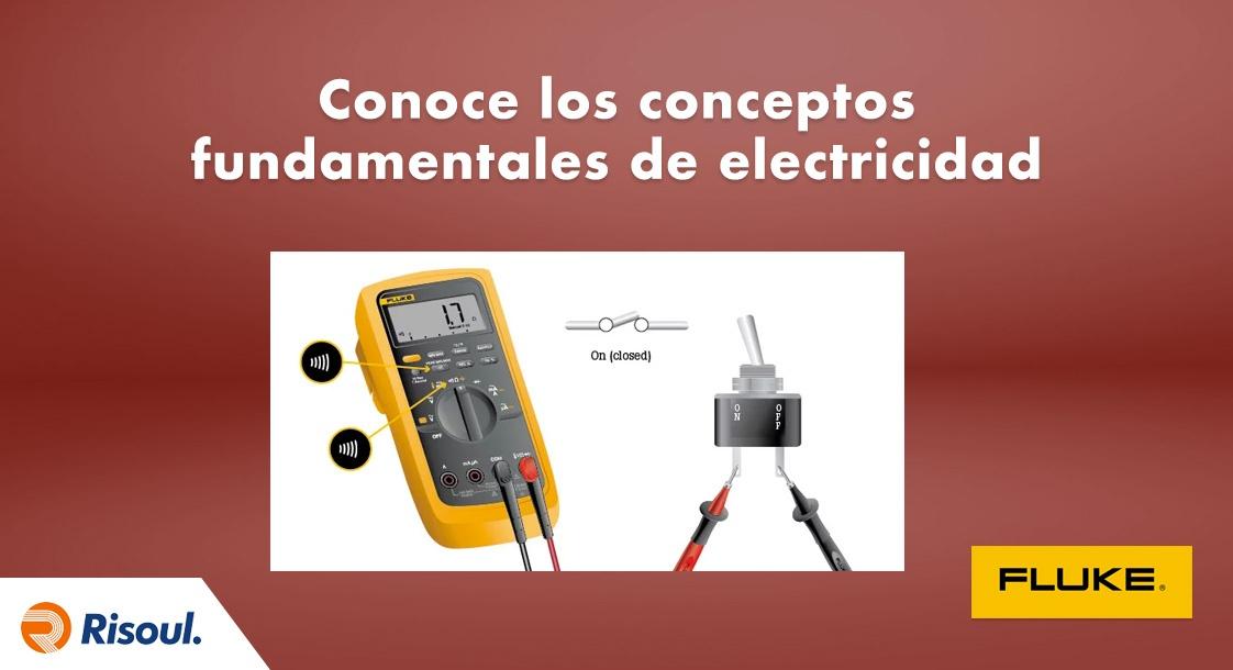 Conoce los conceptos fundamentales de la electricidad con Fluke