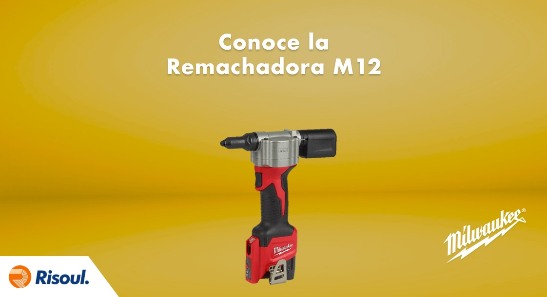 Remachadora M12™ de Milwaukee
