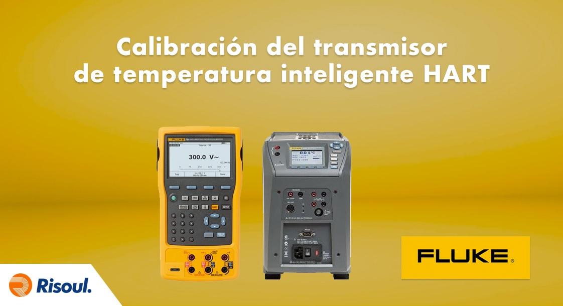 Calibración del transmisor de temperatura inteligente HART con Fluke