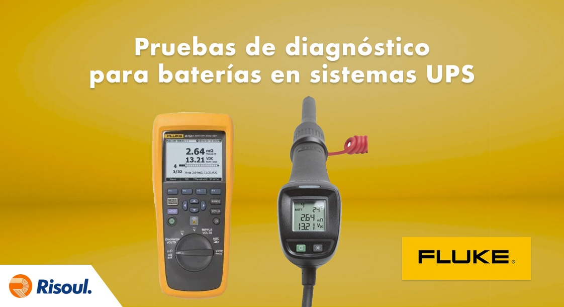Pruebas para diagnosticar el estado de las baterías en sistemas UPS