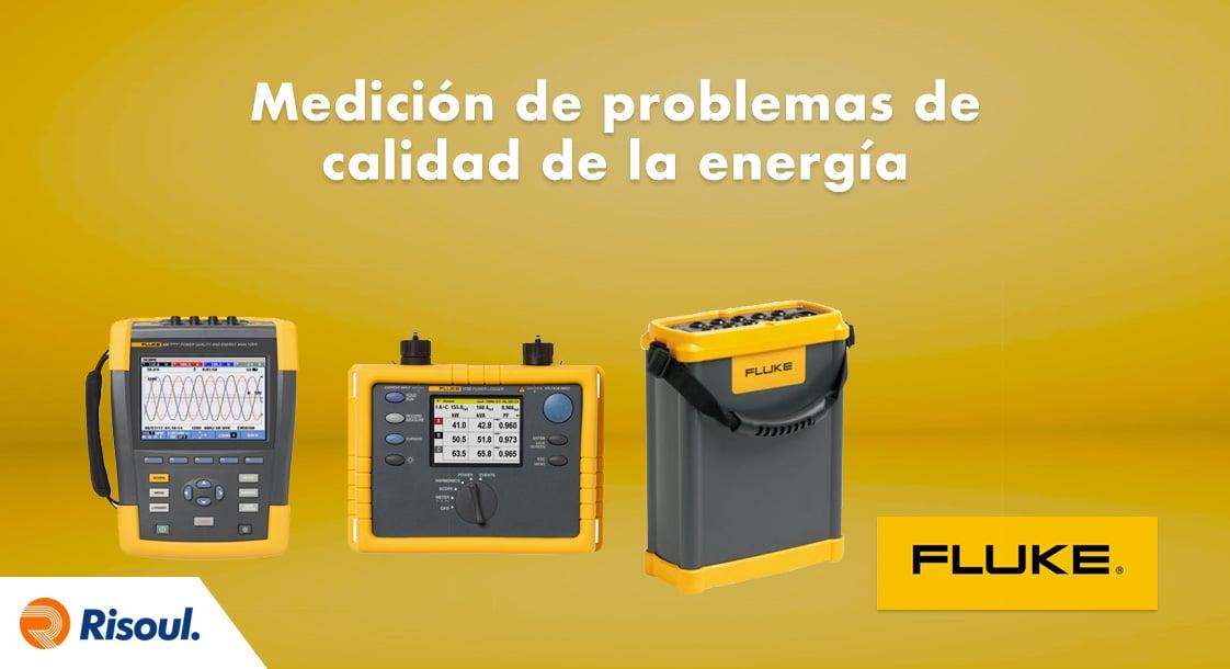Medición de problemas de calidad de la energía con Fluke