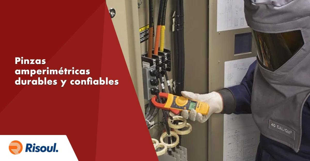 La importancia de contar con pinzas amperimétricas durables y confiables