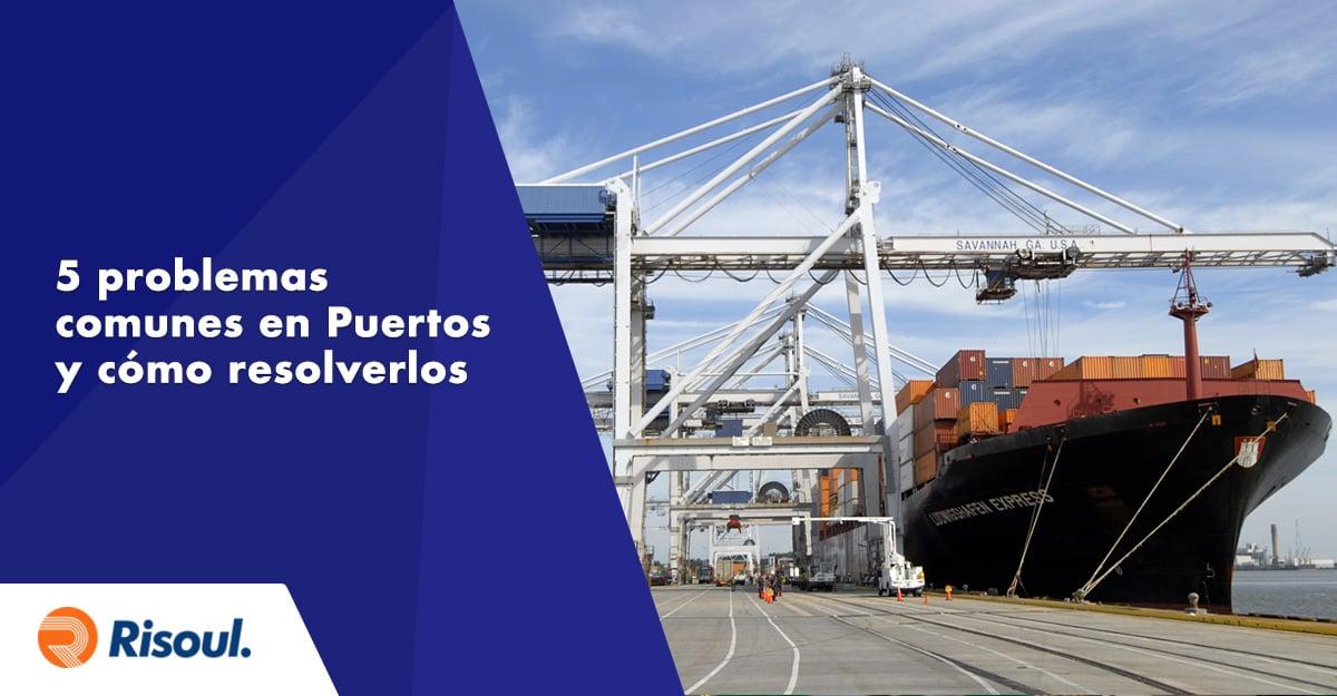 5 problemas comunes en el uso de grúas en Puertos Marinos y cómo resolverlos