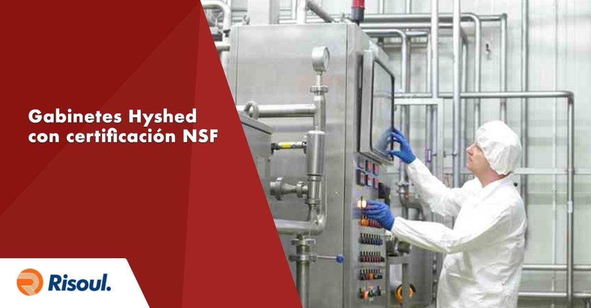 Gabinetes Hyshed de Hoffman con certificación NSF