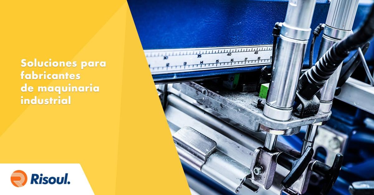 Soluciones Belden para fabricantes de maquinaria industrial