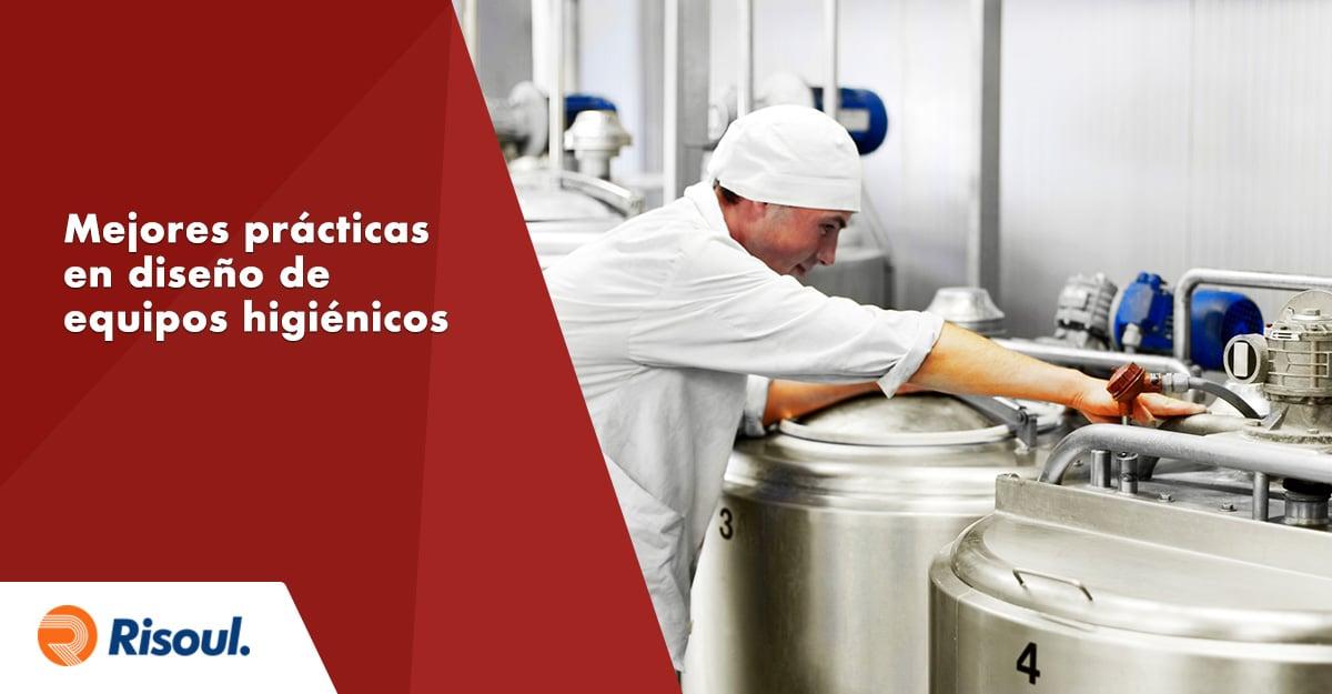 Mejores prácticas para el diseño de equipos higiénicos en la industria alimenticia