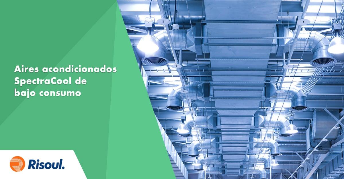 Aires acondicionados Hoffman SpectraCooL industriales de bajo consumo