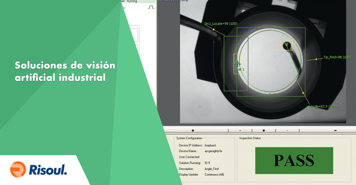 Conoce nuestras diversas soluciones de visión artificial industrial