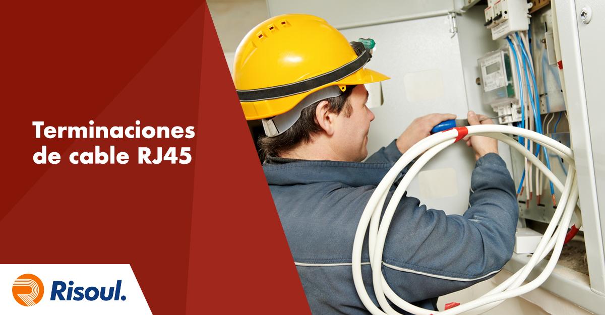 Terminaciones de cable RJ45 para un excelente rendimiento