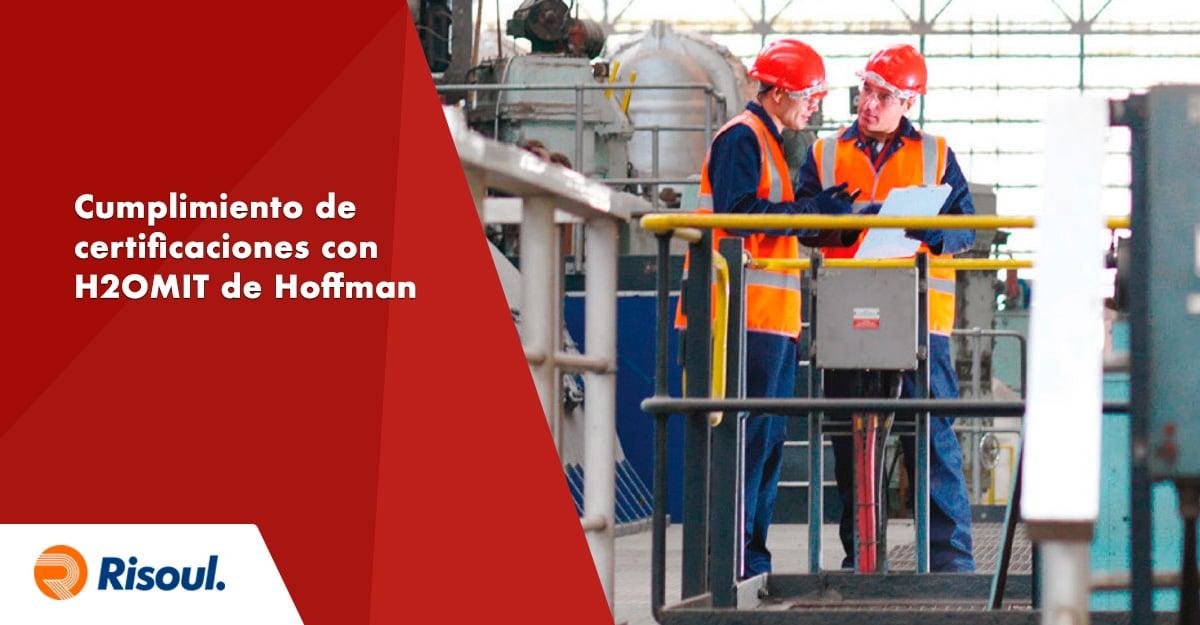 Cumplimiento de certificaciones de seguridad con ayuda de H2OMIT de Hoffman