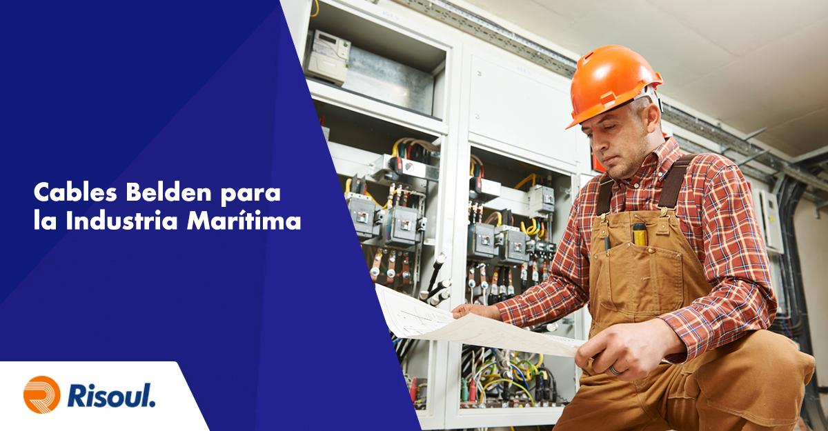Cables Belden para la Industria Marítima