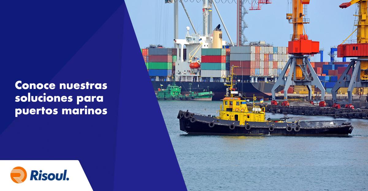 Conoce nuestras soluciones Belden para puertos marinos