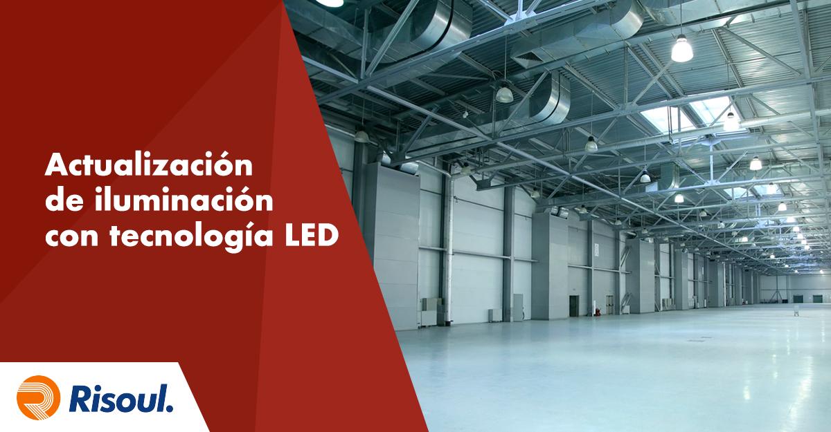 Beneficios de una actualización de iluminación con tecnología LED