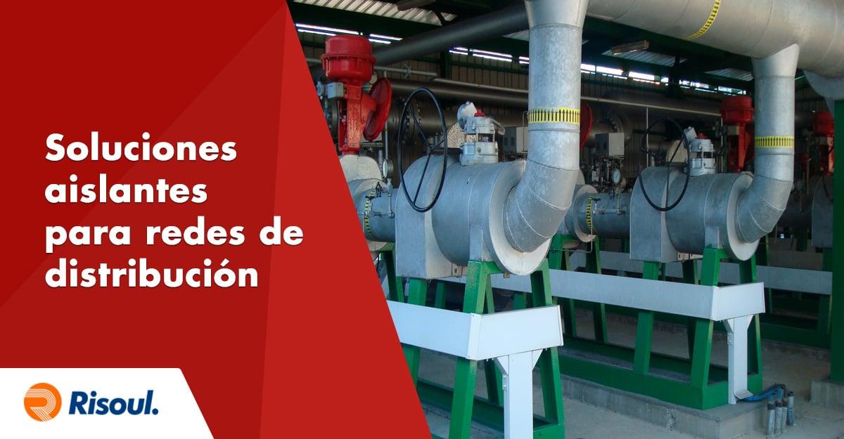 Soluciones aislantes para redes de distribución eléctrica y conexiones