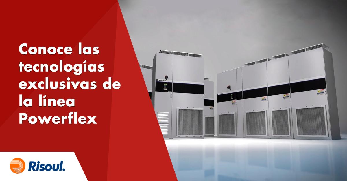Conoce todo sobre las tecnologías exclusivas de la línea Powerflex de Rockwell Automation