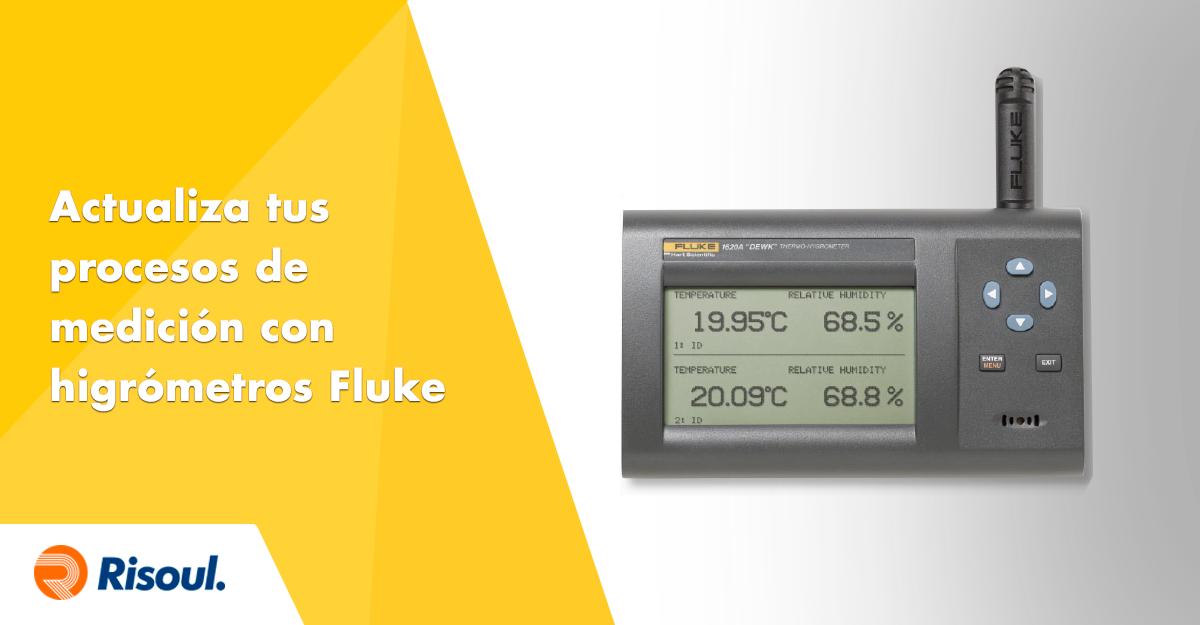 Actualiza tus procesos de medición con higrómetros Fluke