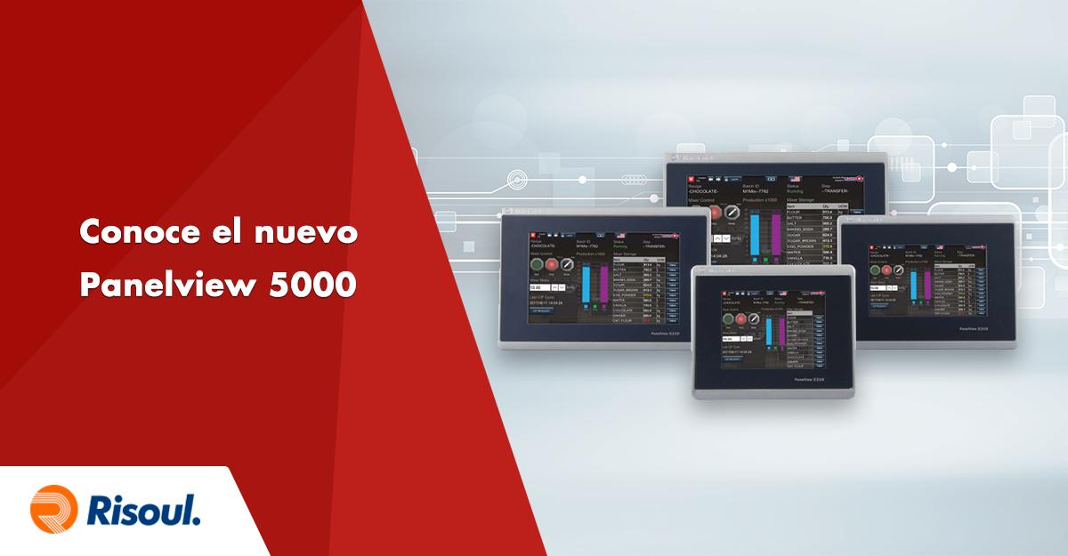 Conoce el nuevo Panelview 5000 de Rockwell Automation