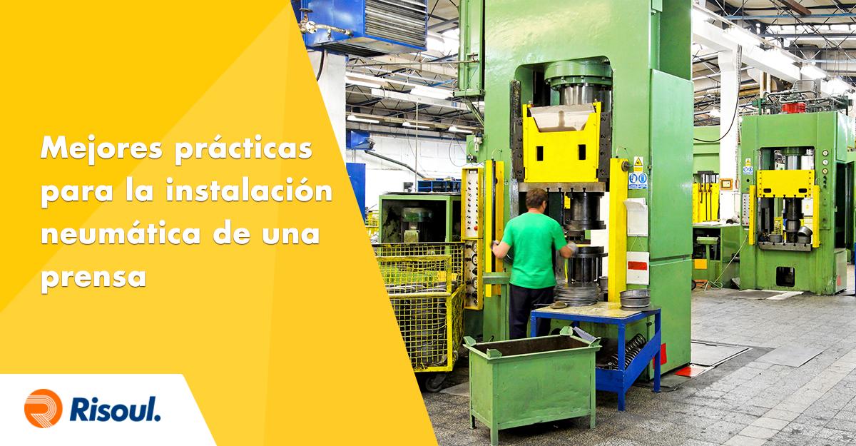 art-658Mejores prácticas para la instalación neumática de una prensa