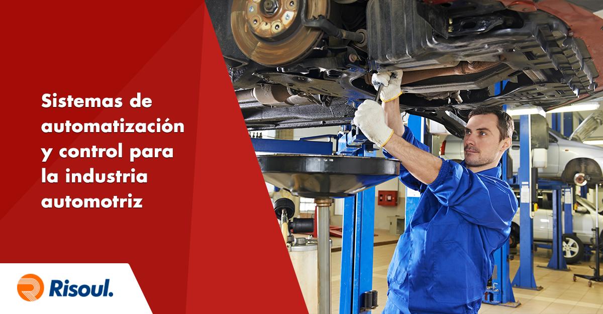Sistemas de automatización y control para la industria automotriz y de neumáticos